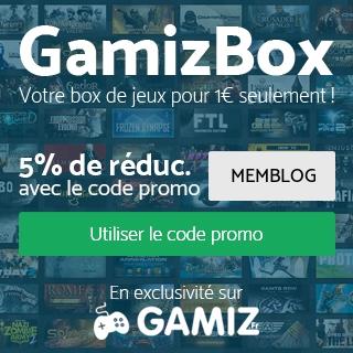 GamizBox : Votre Box jeux PC pour 1€ seulement!