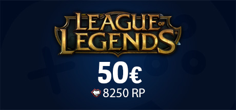 Carte League Of Legends 50€