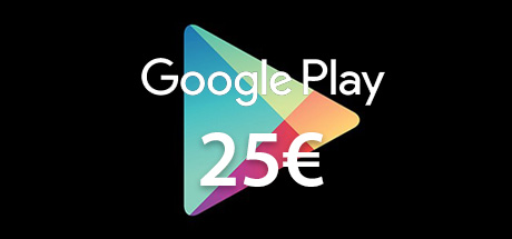Carte Google Play 25€