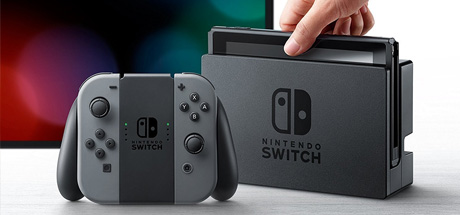 Nintendo Switch - Joy-Con Gris