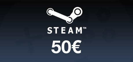 Carte Steam 50€